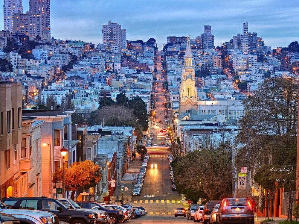 2. Население Сан-Франциско — одно из самых этнически и культурно разнообразных в США.
