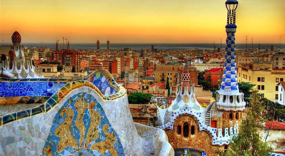 31. Барселона, Испания . Барселона — город, сочетающий в себе старое и новое.