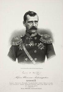 Барон Ипполит Александрович Вревский, генерал-лейтенант, начальник Владикавказского военного округа
