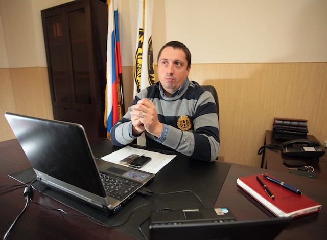 Руководителя ВОБ Александра Шпрыгина ОМОН задержал втуалете