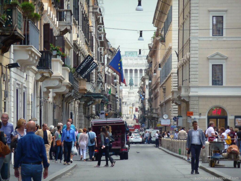 Гуляя по улицам Вечного города...
