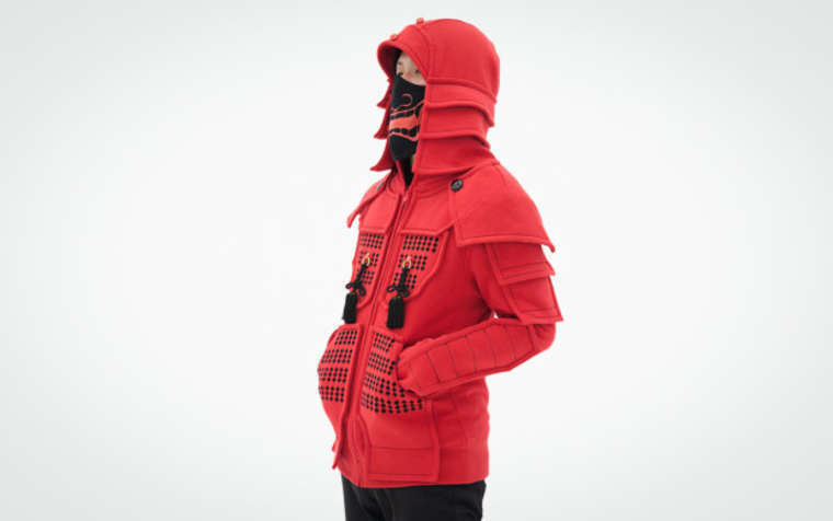 Samurai Armor Hoodies - Become a samurai with these Japanese sweatshirts