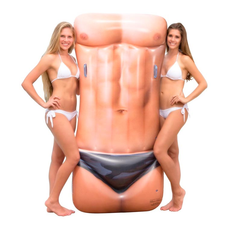Sexy Pool Floats - Put the worst of bad taste in your swimming pool