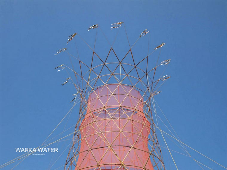 Warka Water - An innovative structure for collecting the water in the air