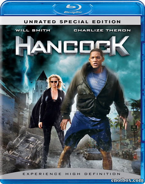 Хэнкок [UNRATED] / Hancock (2008/BD-Remux/BDRip/HDRip)