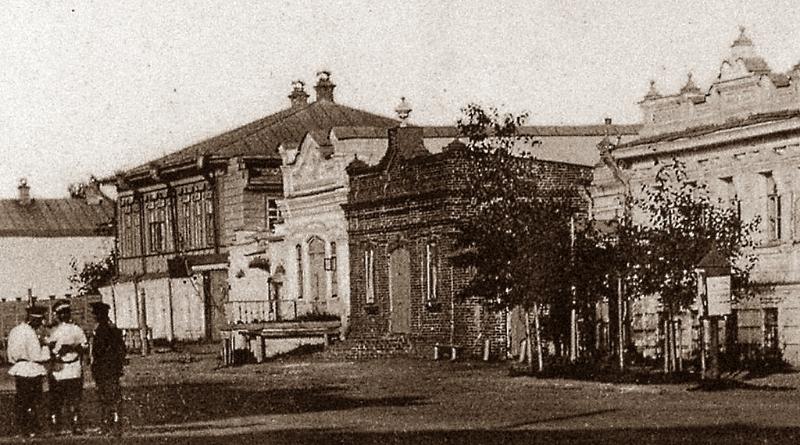 Магазин фруктовых вод К.С.Земянского со складом купца И.И.Ушакова