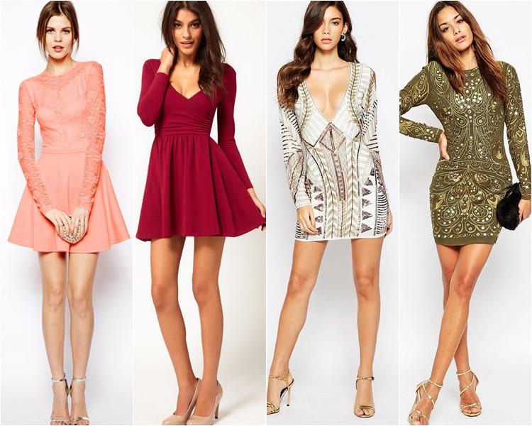 Модные короткие платья 2016 фото 10