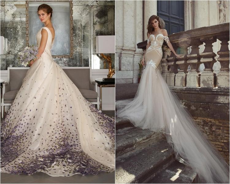 Фото платья со шлейфом фото и цены