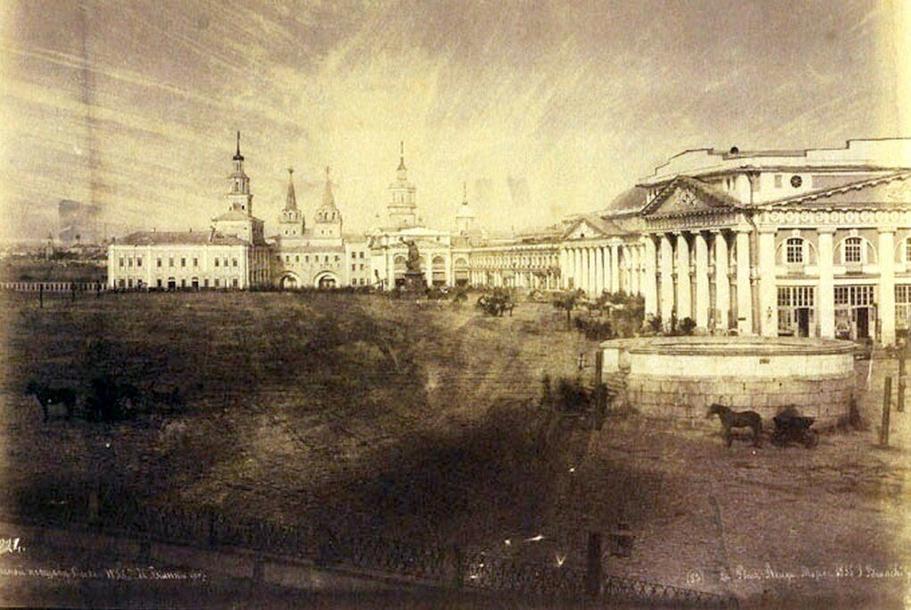 458321 Красная площадь от Покровского собора 1855 Иван Бианки.jpg