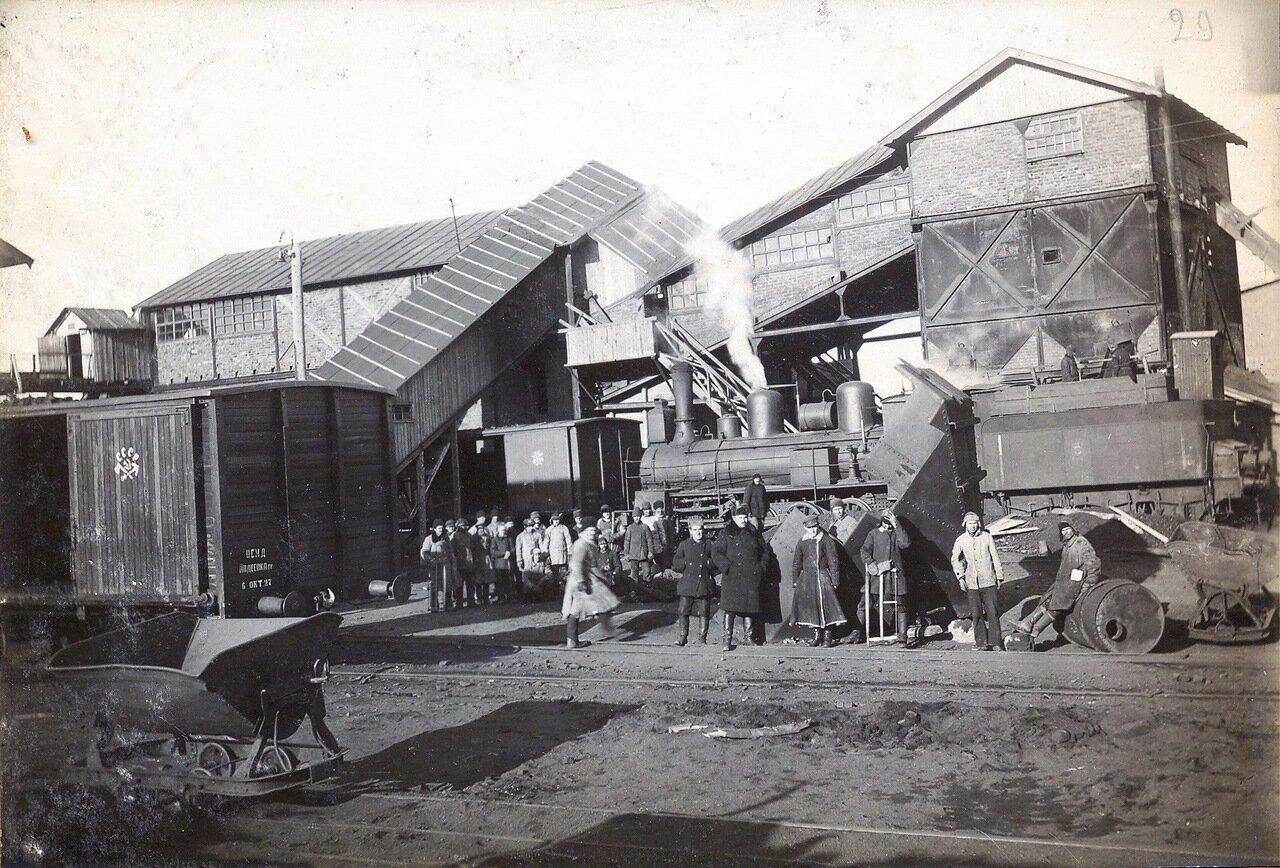 1928. Центральная механическая сортировка при станции Секирино