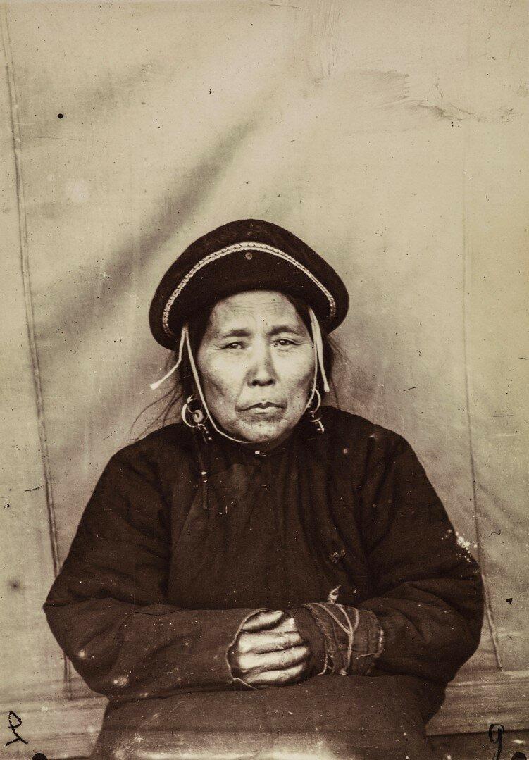 Портрет женщины нивхи