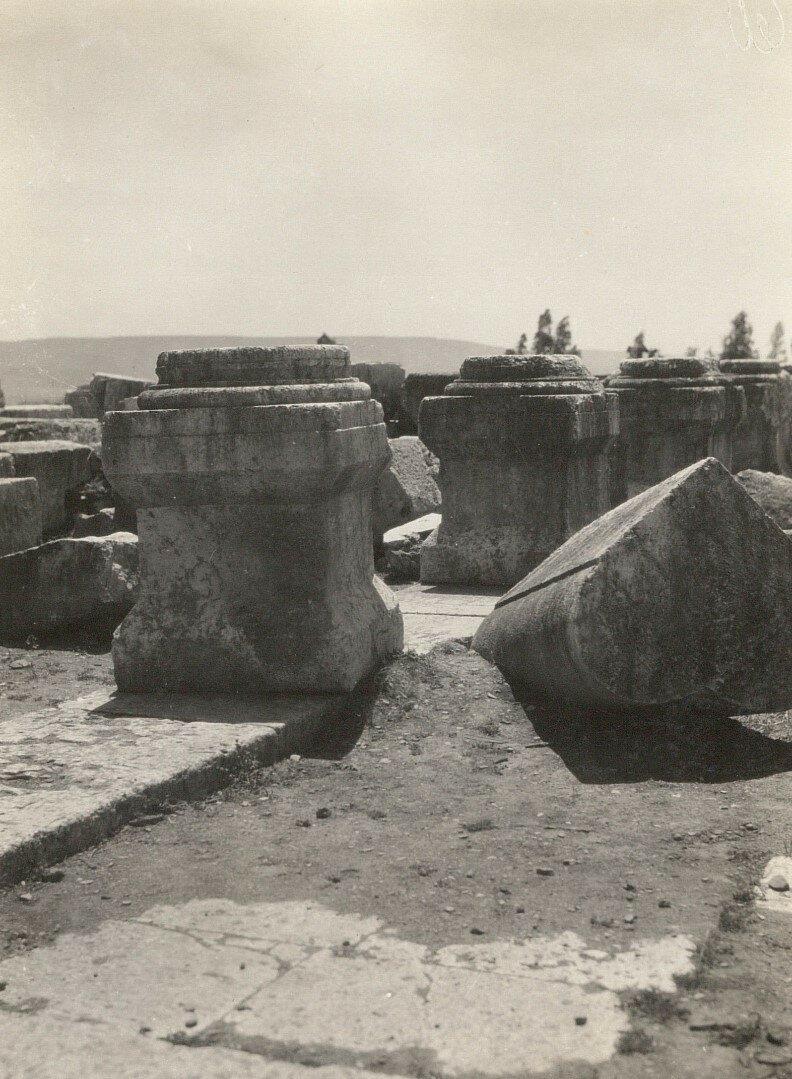 Капернаум. Руины синагоги