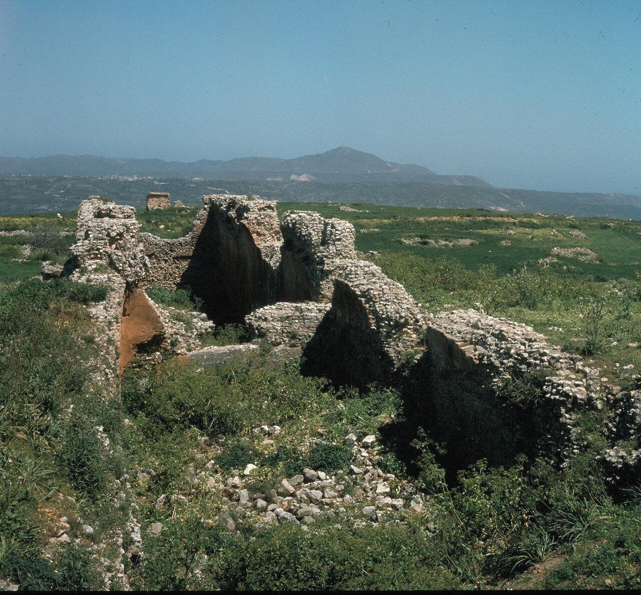 Крит. Аптера. Римский резервуар