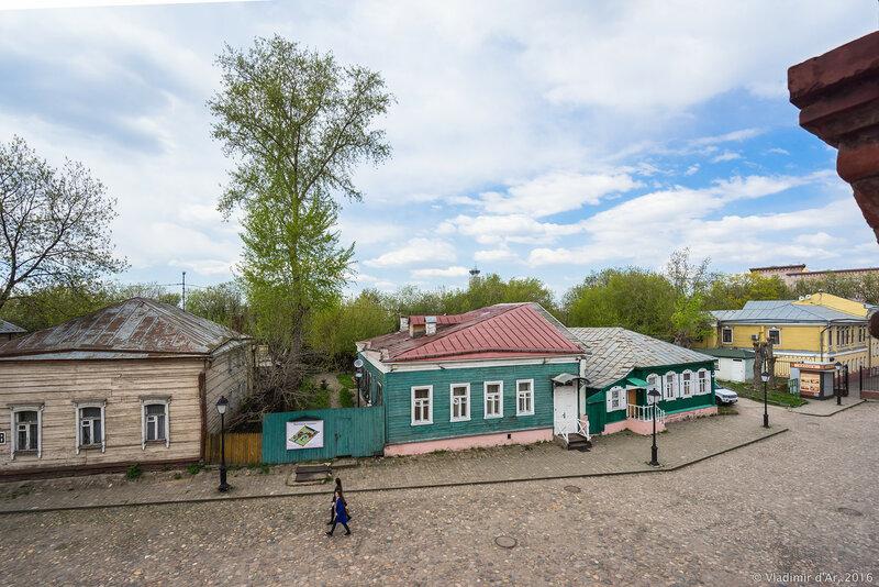 Историко-градостроительная среда, вторая половина XIX в. Крутицкое подворье.