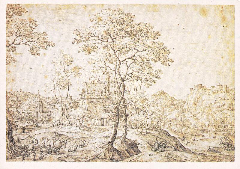 Голландский и фламандский рисунок