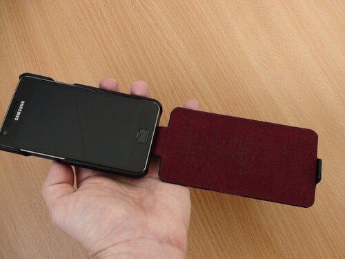 Galaxy S II с чехлом Classic baron (9)