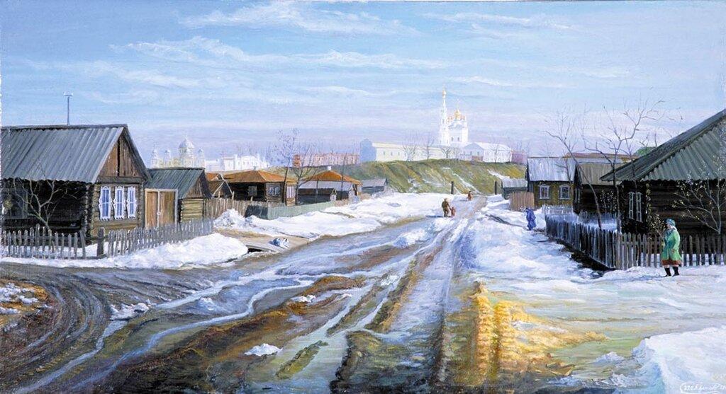 Борис Гутнов - Утро вербного воскресенья