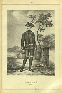 402. ОБОЗНЫЙ, 1762.