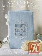 Книга Sampler & antique needlework vol.55 2009