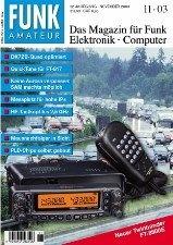 Журнал Funkamateur № 11 2003