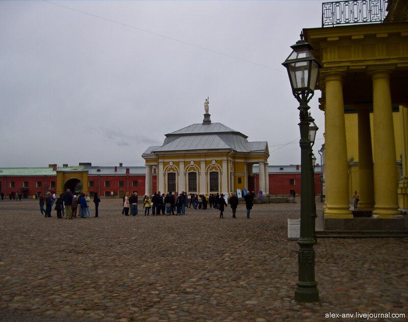 Петропавловская крепость. Ботный домик.