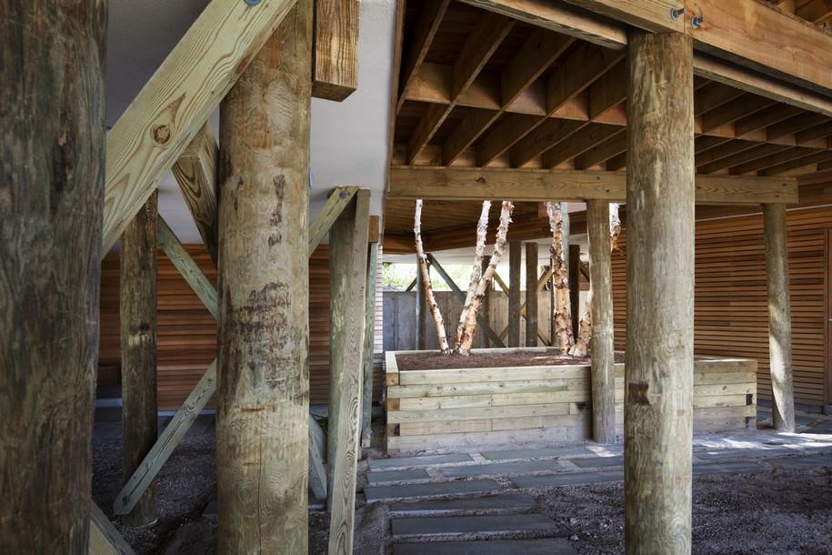 Живописный вид Bay House на Лонг Айленде