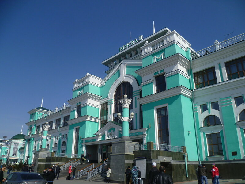 Россия, Омск – вокзал (Russia, Omsk – Station)