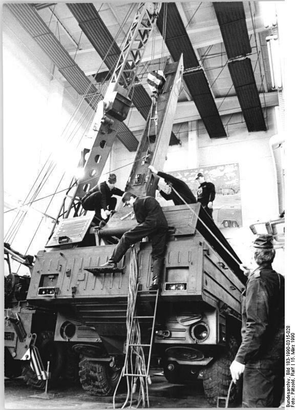 Demen, Verschrottung von SS-23 Start-und Ladefahrzeugen