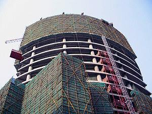 Строительство жилья в Китае