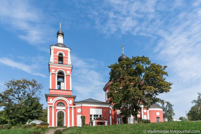 Храм Петра и Павла в Петровском