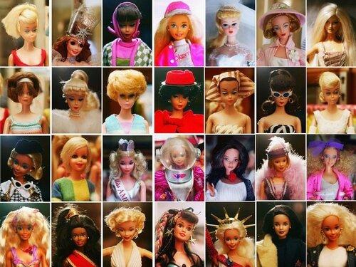 Разные Барби
