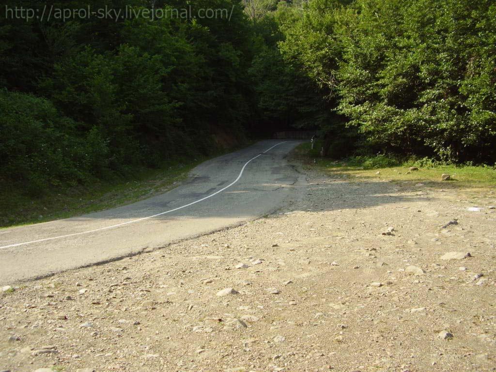 Горная дорога