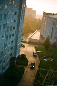 Дождь фото, дождь, ФЭД-5