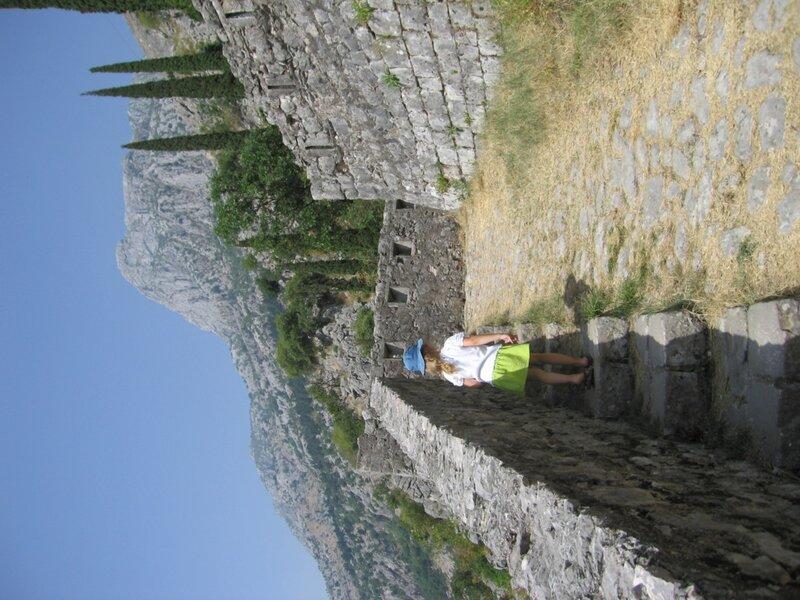 Черногория, подъем в крепость Котора