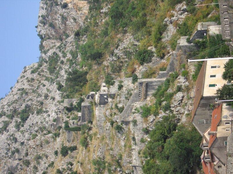 Черногория, крепость в Которе