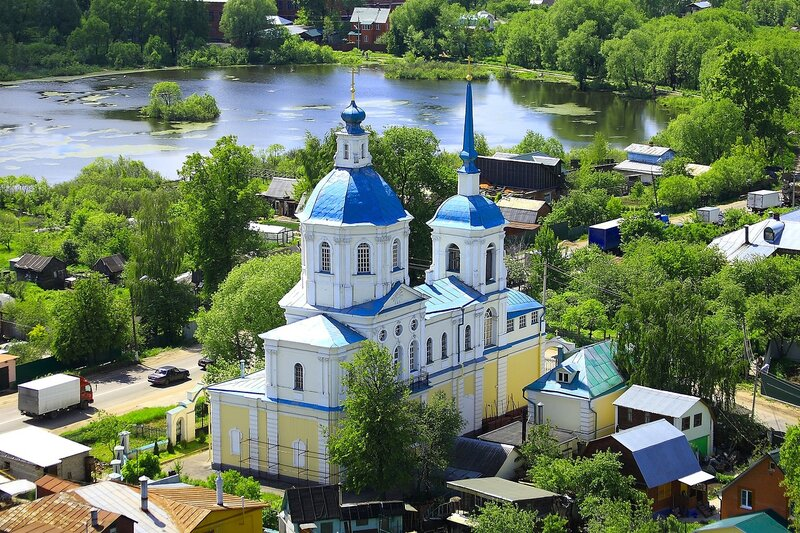 Церковь Киово, Лобня
