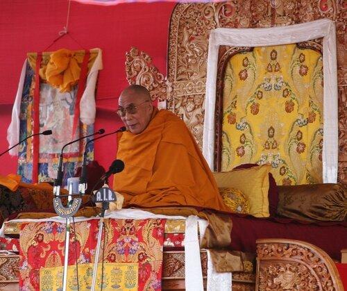 Его святейшество Далай-Лама XIV.