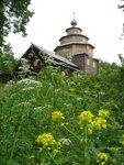 Храм из нижегородского музея деревянного зодчества