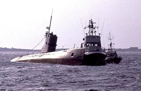 1981 подводная лодка швеция