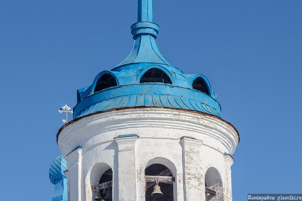 Менделеевск (Тихие Горы). Богоявленский храм, люкарны.