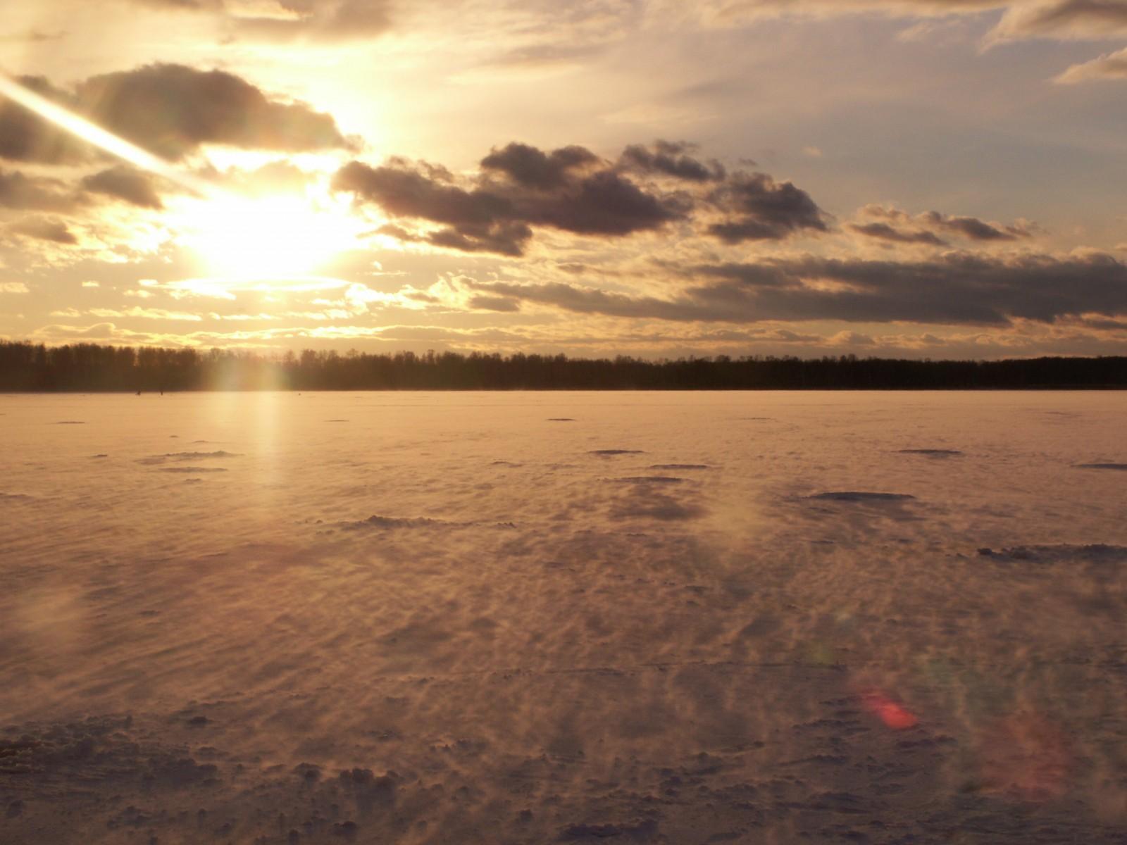 Заход солнца наСагиштах