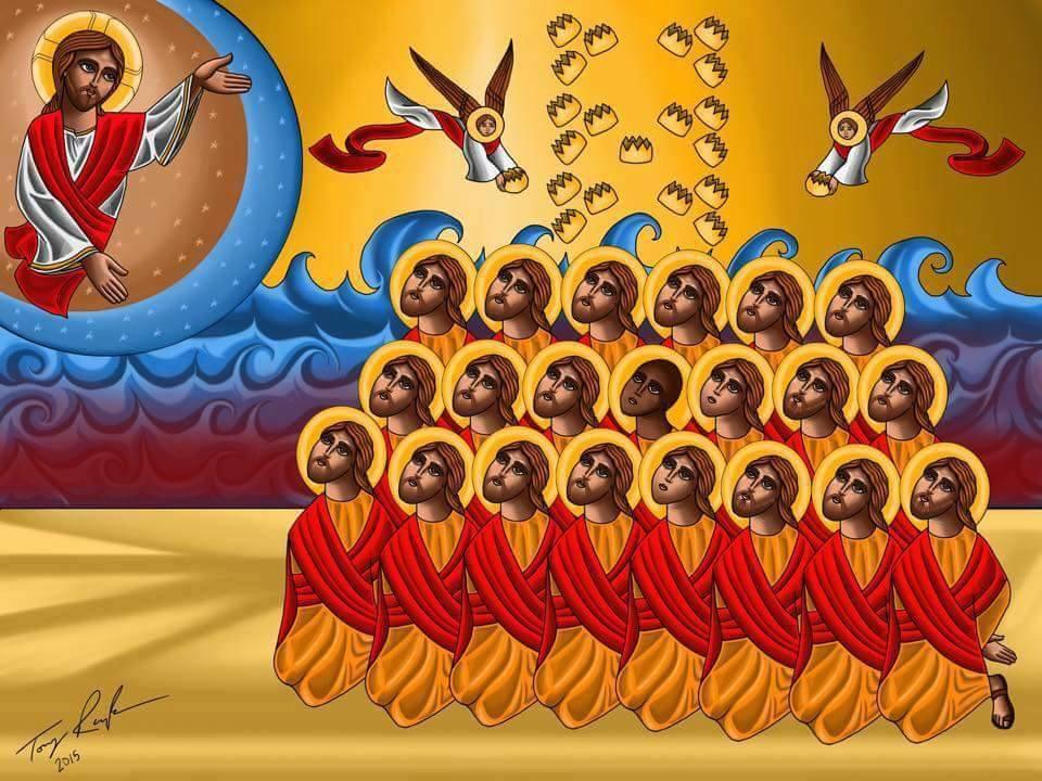 Новомученики, в Ливии пострадавшие (21 копт)