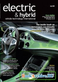 Журнал Electric & Hybrid vehicle technology international magazine July 2009.