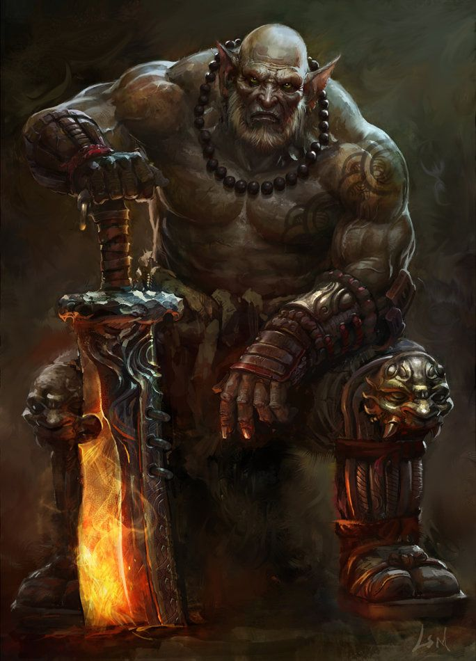 Lord of the rings orc concept art