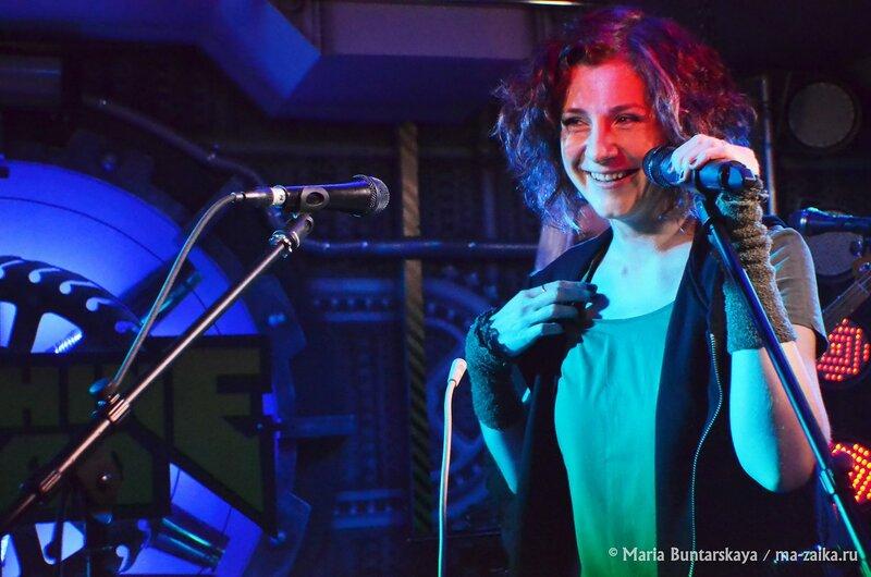 Ива Нова, Саратов, рок-клуб 'Machine Head', 07 марта 2015 года