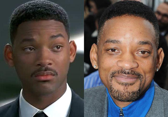 Актеры из фильма Люди в черном
