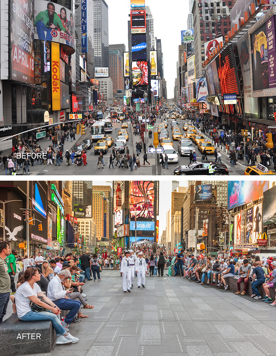 Incredible Transformation of Time Square