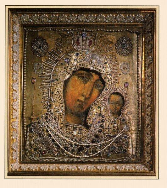 Чудотворные списки Казанской иконы Божией Матери