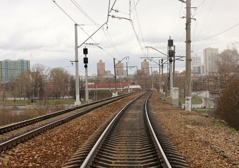 Нечётные входные по станции Тушино
