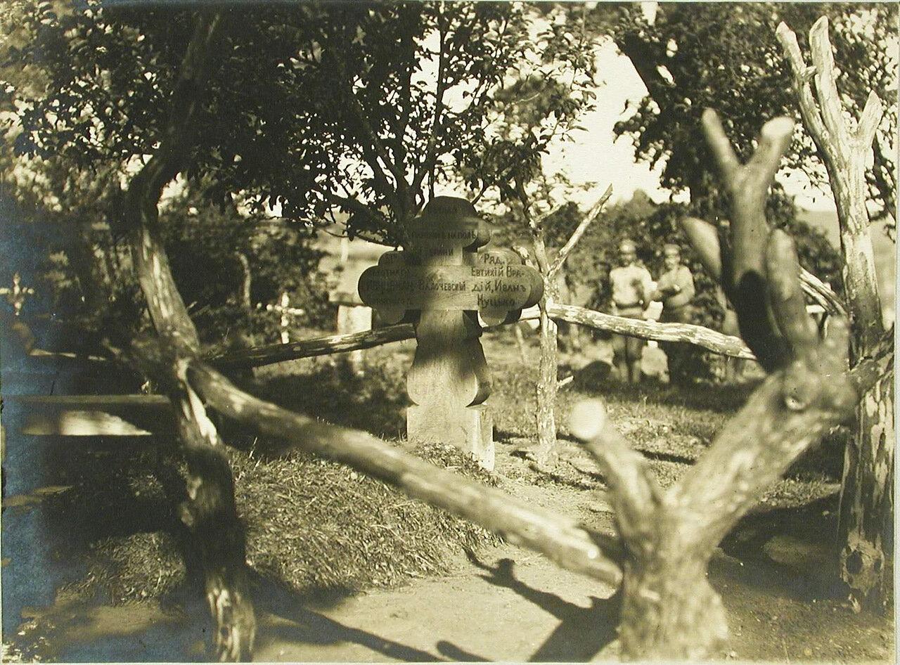 19. Вид братской могилы на кладбище. Галиция, с.Сервиры